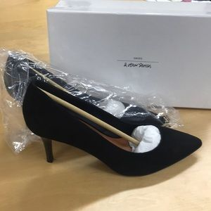 & other stories black suede pumps EUR 39